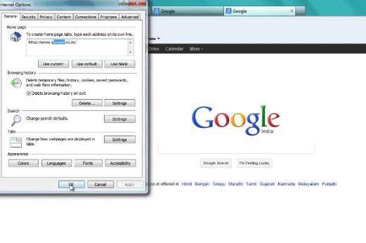 Como Colocar O Google Como Pagina Inicial