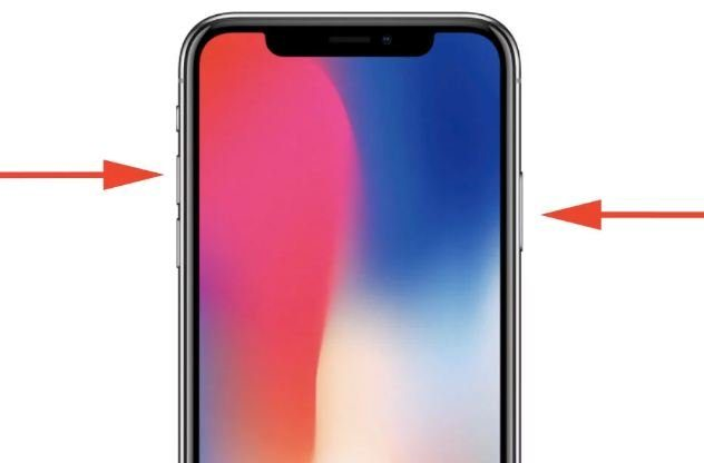 Como tirar uma imagem no iPhone X