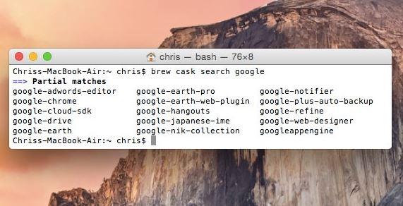 Como Instalar Pacotes com Homebrew para OS X