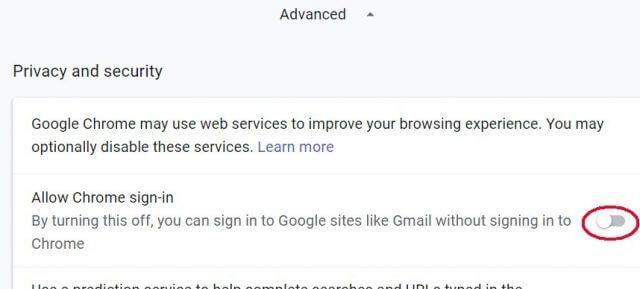 Como Impedir a Entrada Automática do Chrome