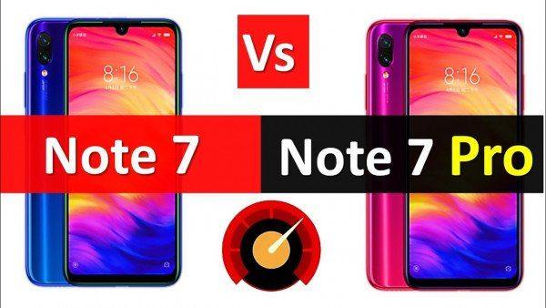 Xiaomi Redmi Note 7 vs Redmi Note 7 Pro Qual é o Melhor?