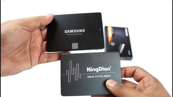 KingDian s280 Revisão do SSD