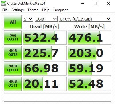 Revisão Goldenfir - Weijinto 128GB mSATA SSD