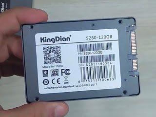 Revisão SSD - KingDian S280 SATA III 120GB